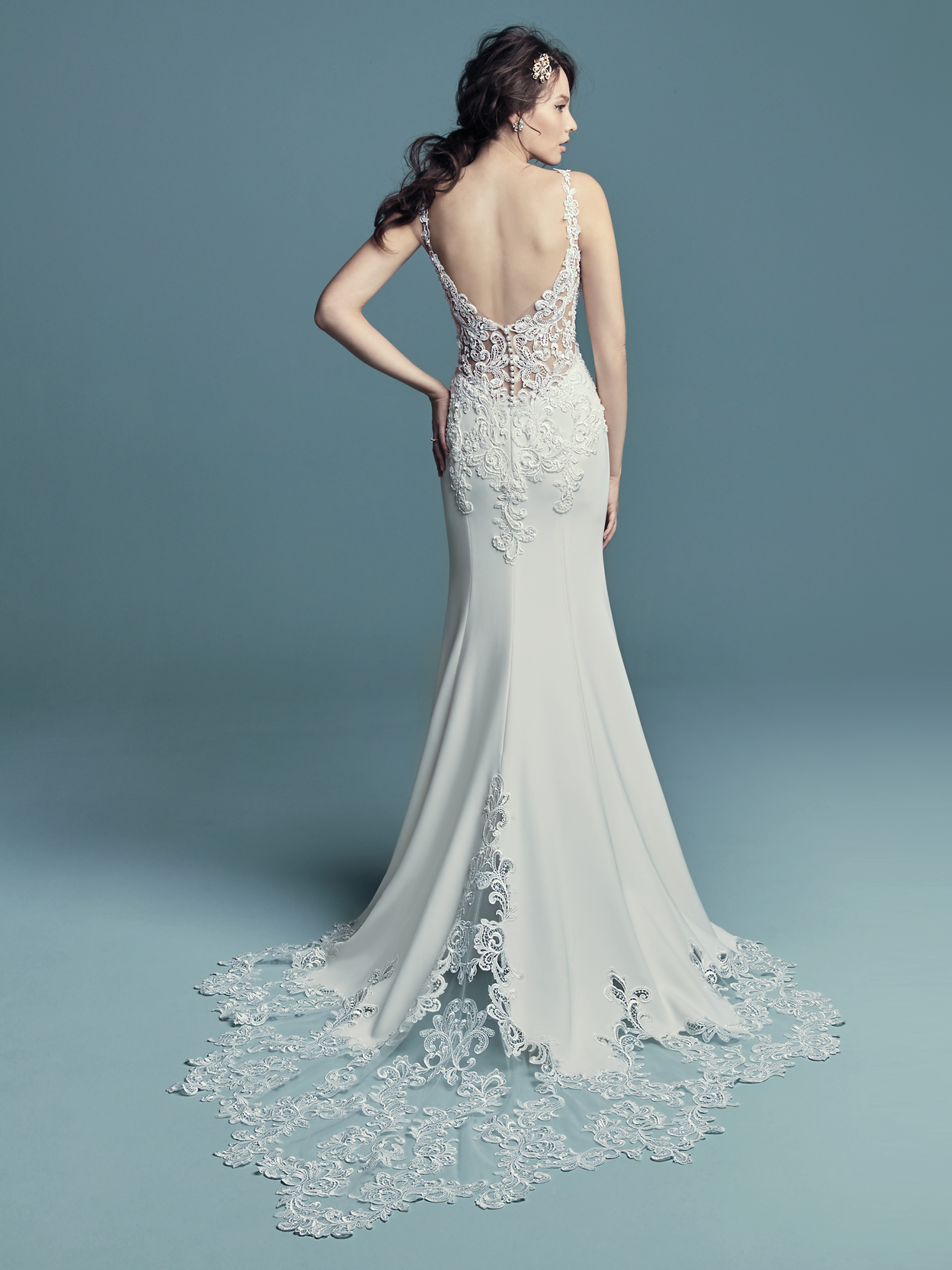 Maggie Sottero - Alaina - Back View