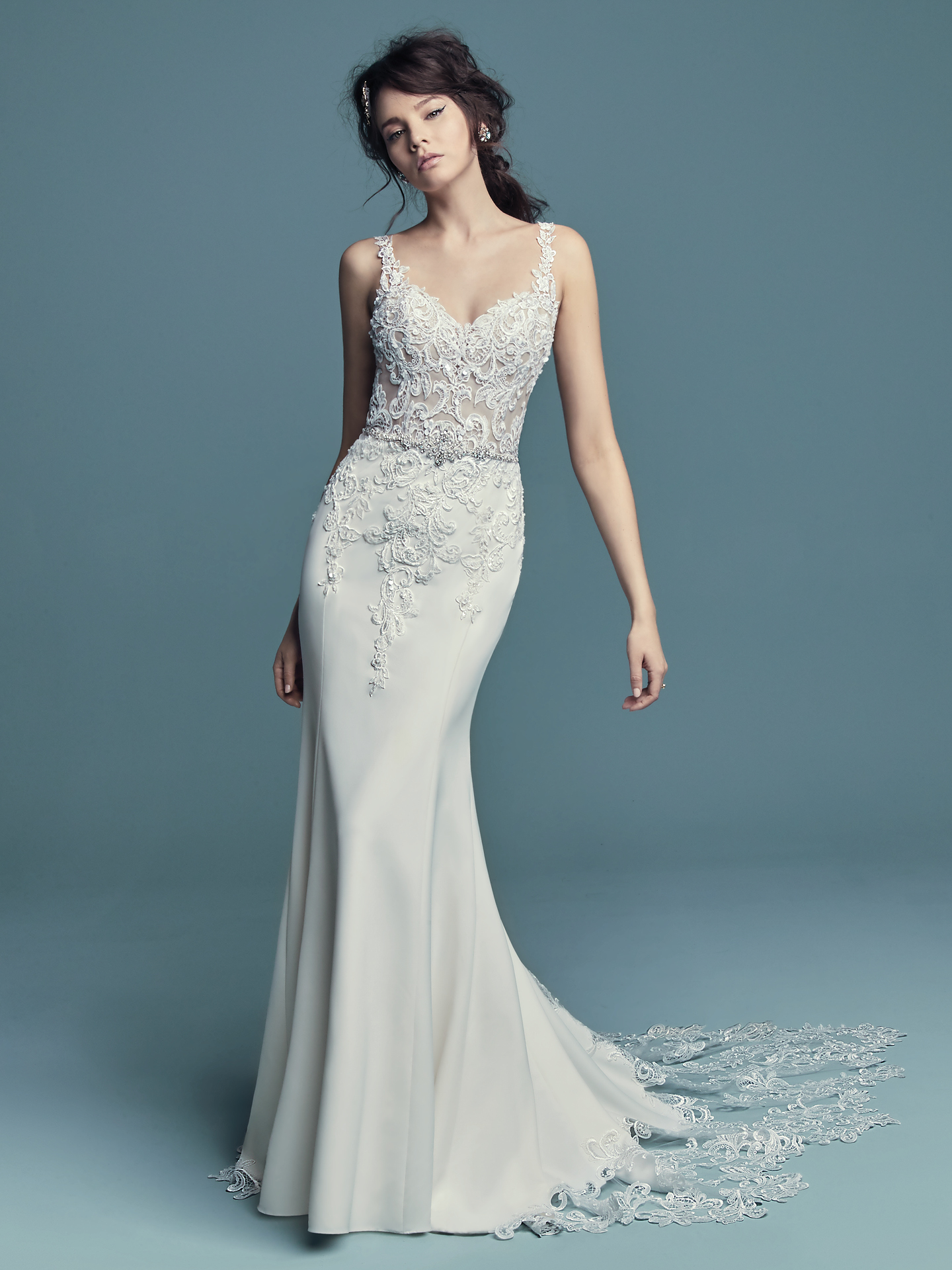 Maggie Sottero - Alaina - Front View