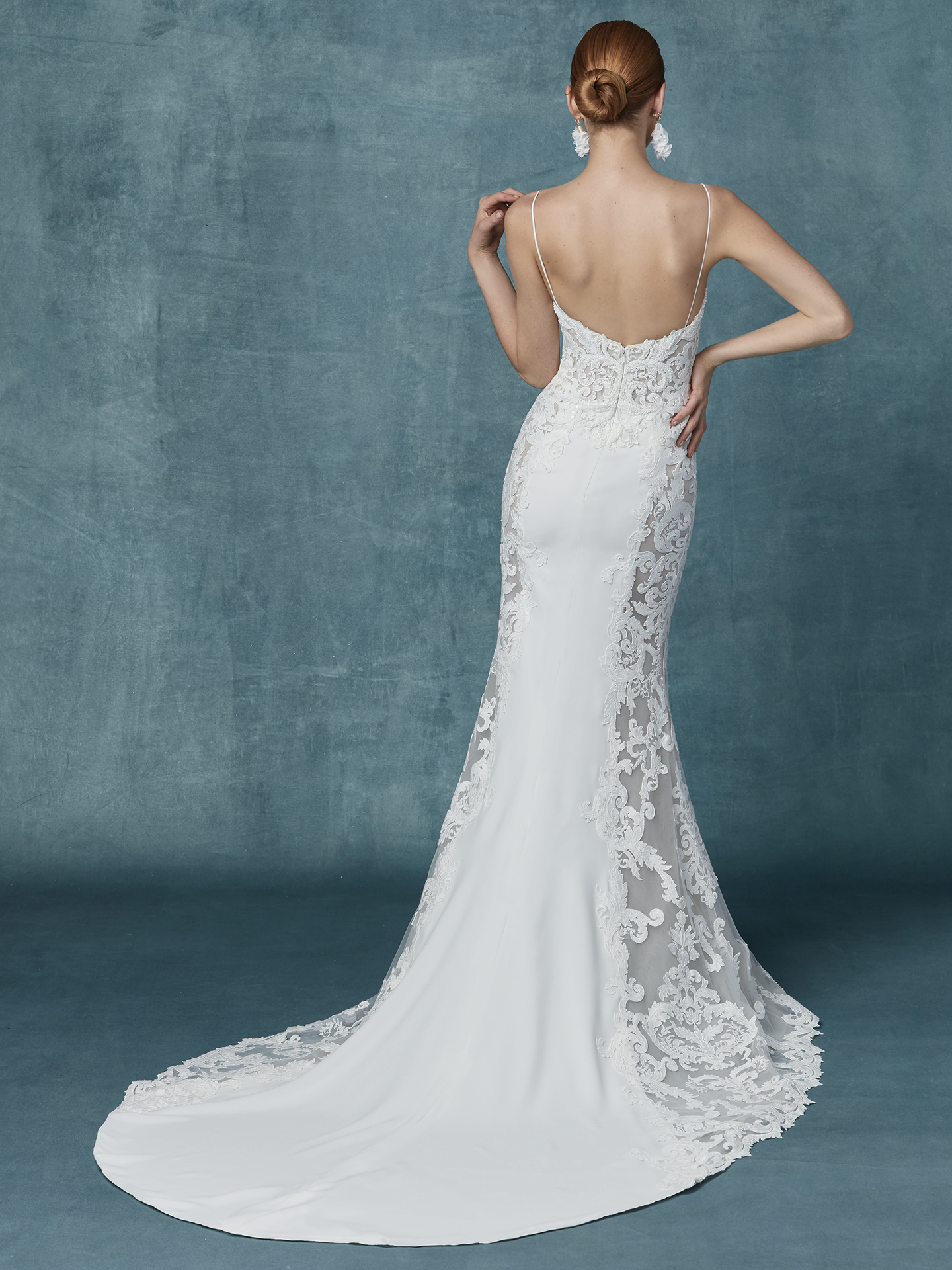Maggie Sottero - Darshana - Back View