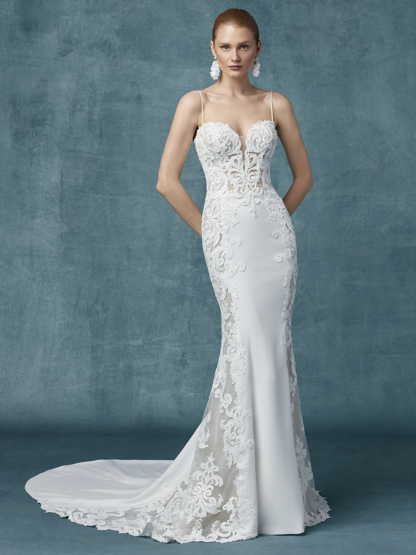 Maggie Sottero - Darshana - Front View
