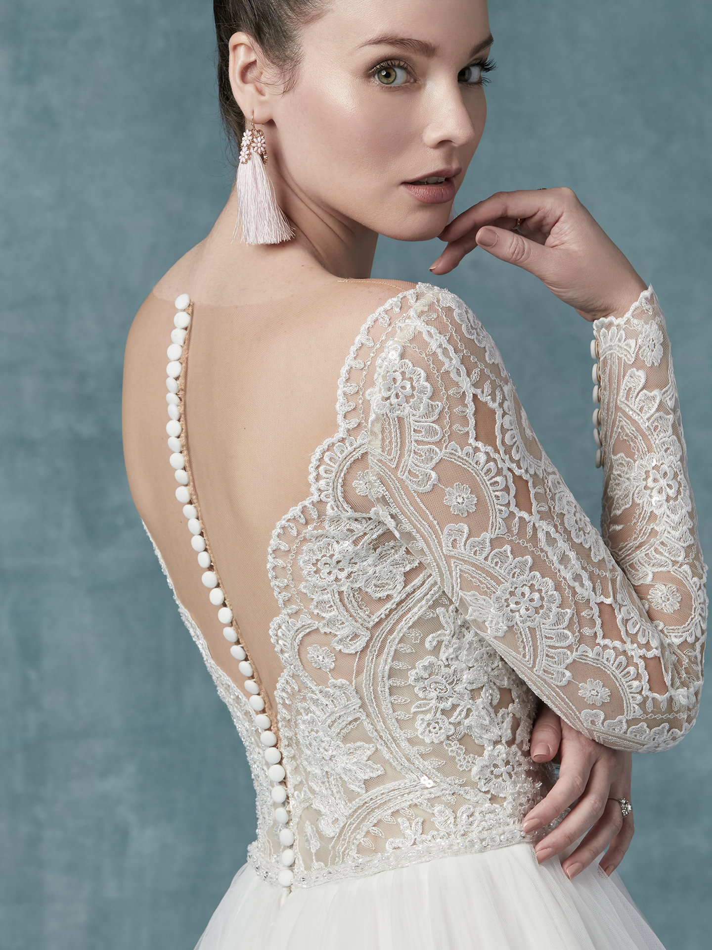 Maggie Sottero - Mallory Dawn - Back View