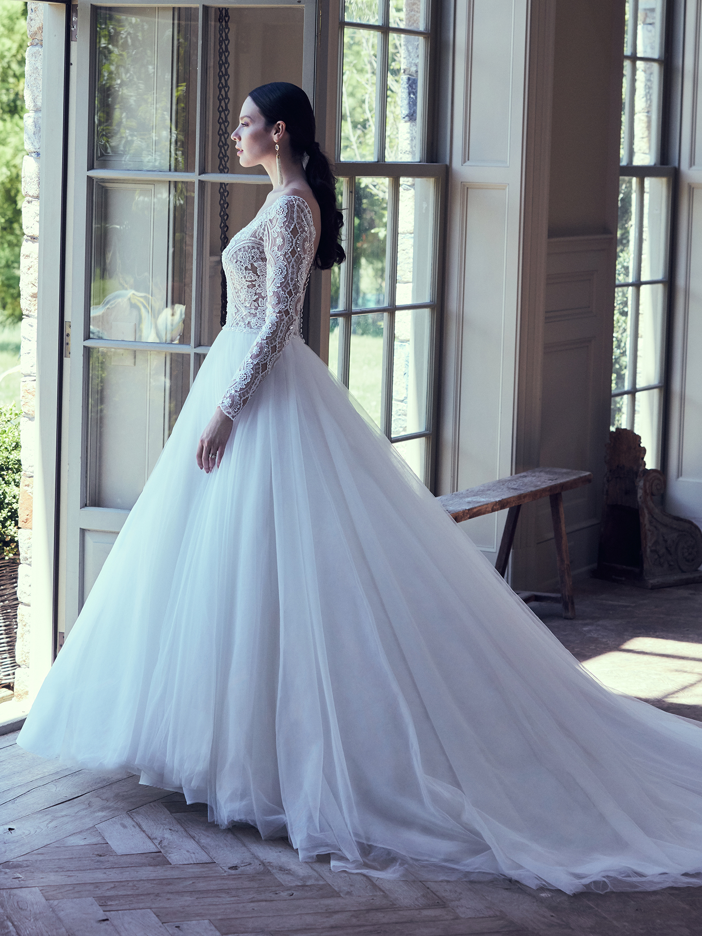 Maggie Sottero - Mallory Dawn - Side View