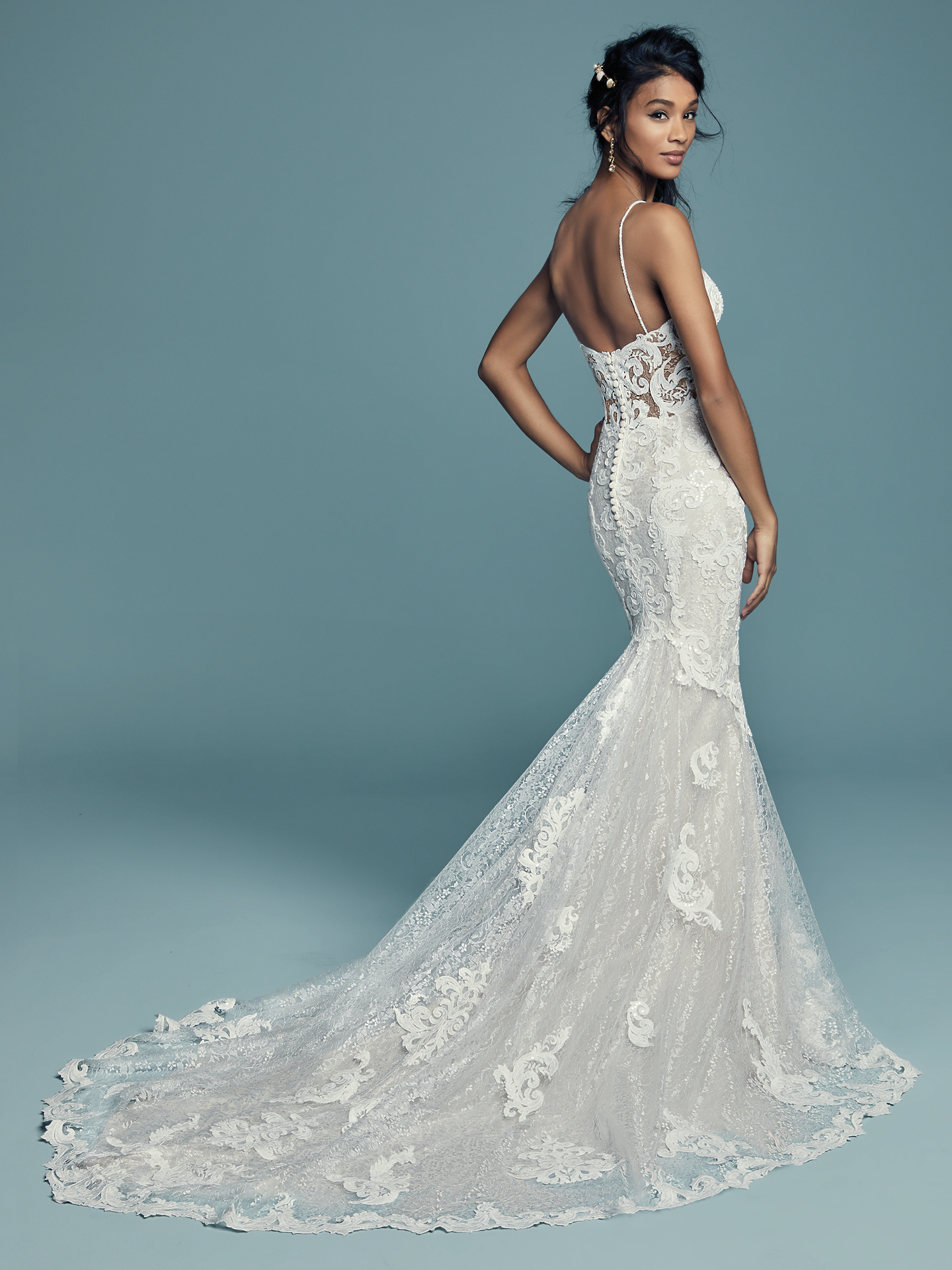 Maggie Sottero - Tuscany Lynette - Back View