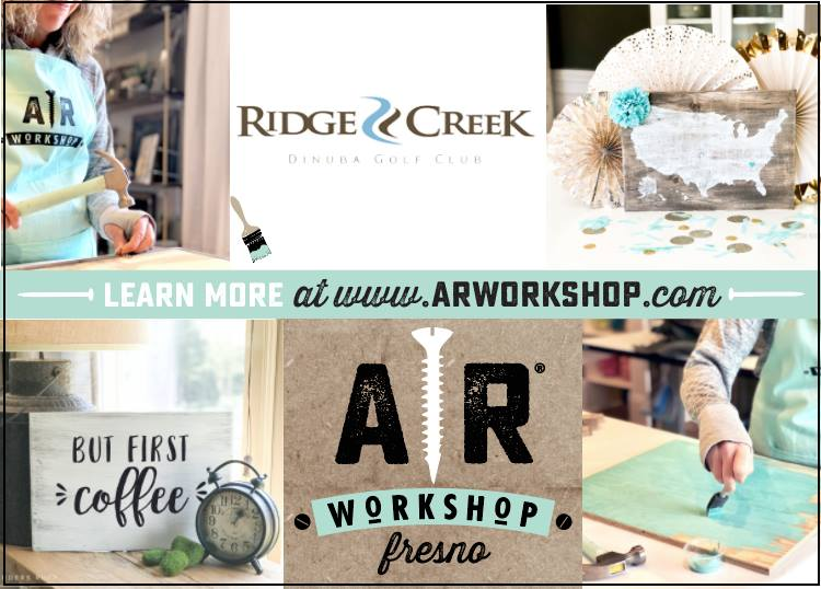 AR Wooden Sign Workshop at Ridge Creek