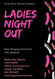 Kings River Winery Ladies Night out