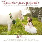 Unicorn experience Capture Life Events