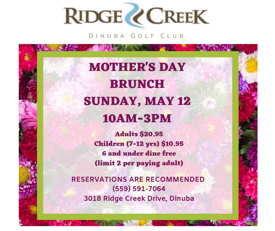Ridge Creek Mother's Day Brunch