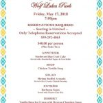wolf lakes may feedlot menu