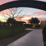 San Joaquin Winery Sunset