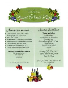 Kings River Winery Fruit Trail Bus Event
