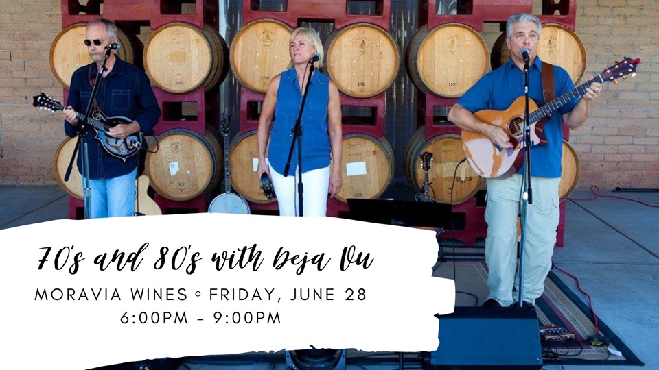 Moravia Wines: 70's & 80's with Deja Vu: Family Happy Hour ⋆ Premier  Weddings Central Valley