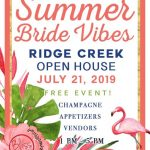 Ridge Creek Summer Bride Vibes