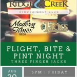 RCDGC - Flight, Bite & Pint Night Aug 30