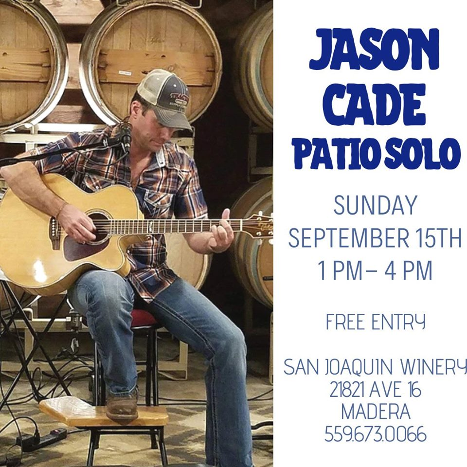San Joaquin Winery, Jason Cade